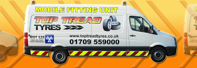 Mobile Tyre Fitting Rotherham Top Tread Tyres